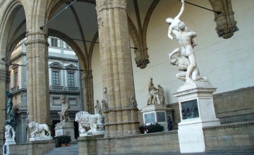 Loggia dei Lanzi Firenze