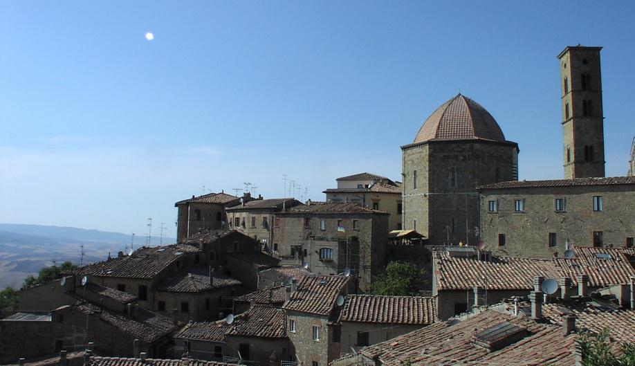 Volterra Near Florence