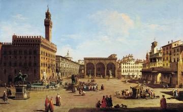 Piazza della Repubblica in the old times