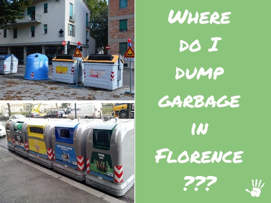 Where you dump garbage in Florence