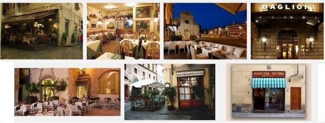 Find a restaurant in florence google snapshop
