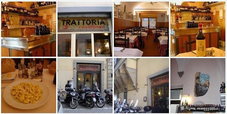 Trattoria la Casalinga Restaurant in Oltrarno
