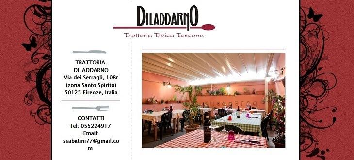 Trattoria diladdarno in Florence Oltrarno