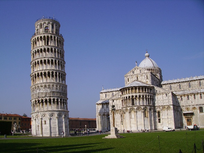 Pisa and its lining tower