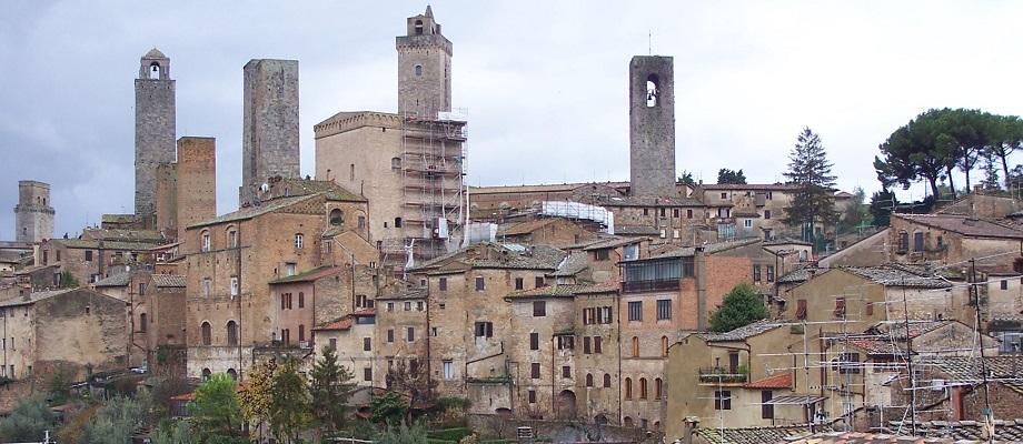 San Gimignano near Florence