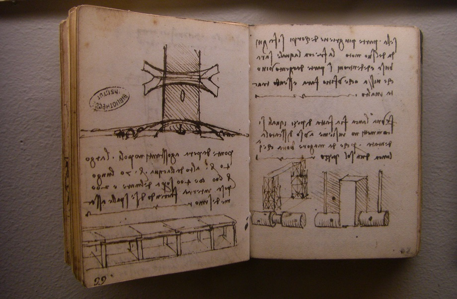 Leonardo Da Vinci Manuscript