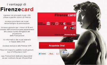 Florence Discount Card