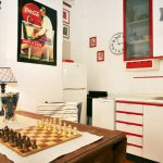 Room with Table and Chess