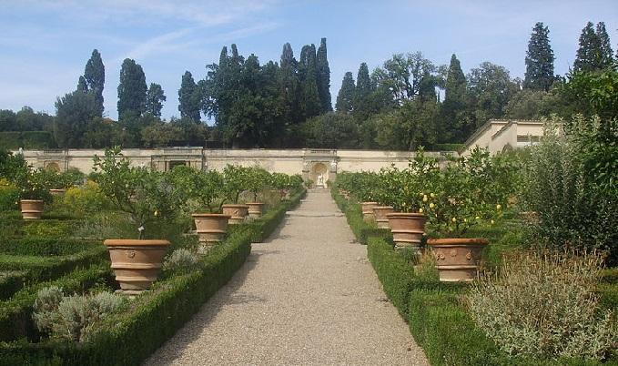 Parco E Giardino Della Villa Medicea Di Castello Firenze