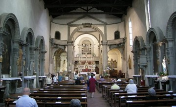 The Church of Sant'Ambrogio in Florence
