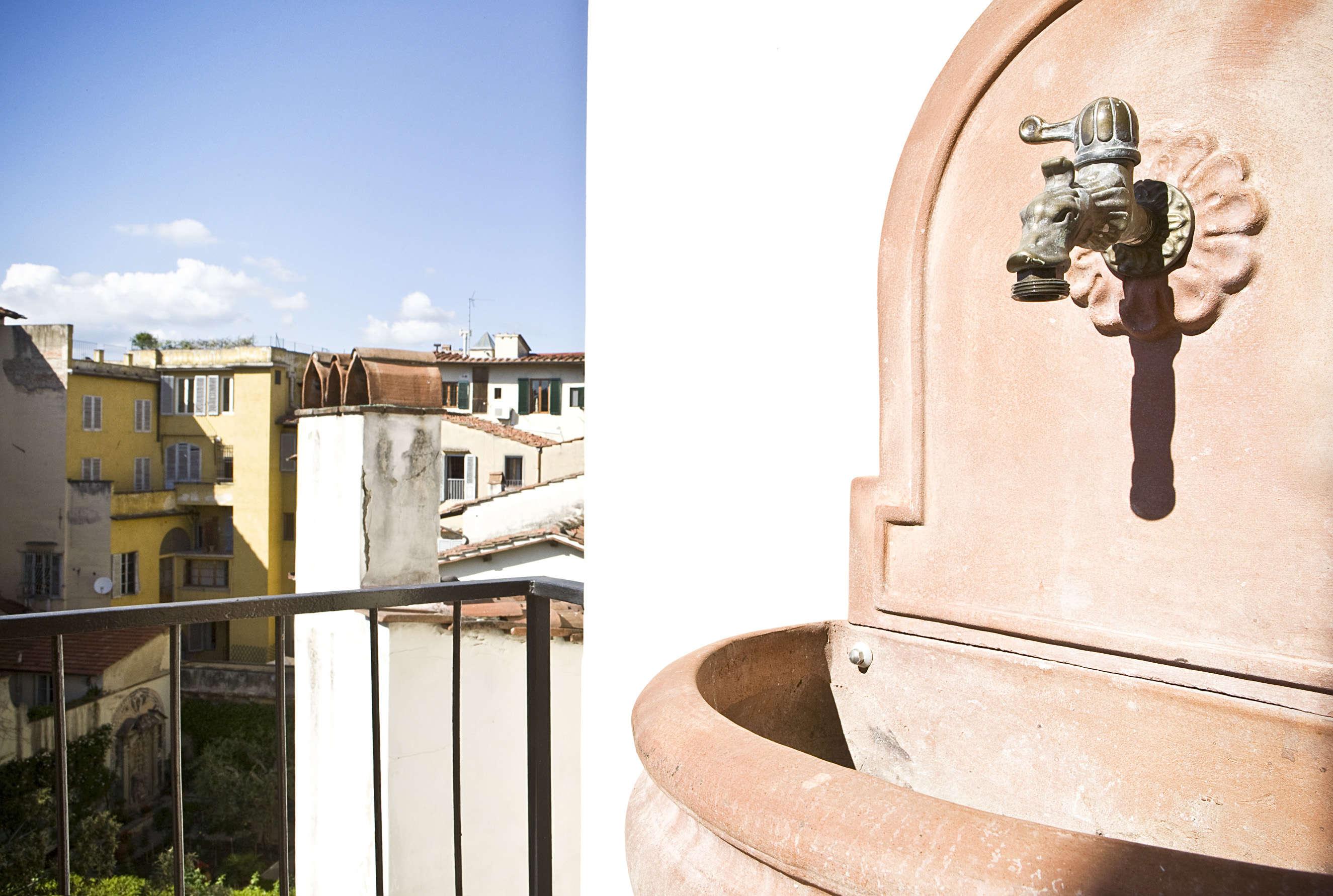 Washbasin in Balcony