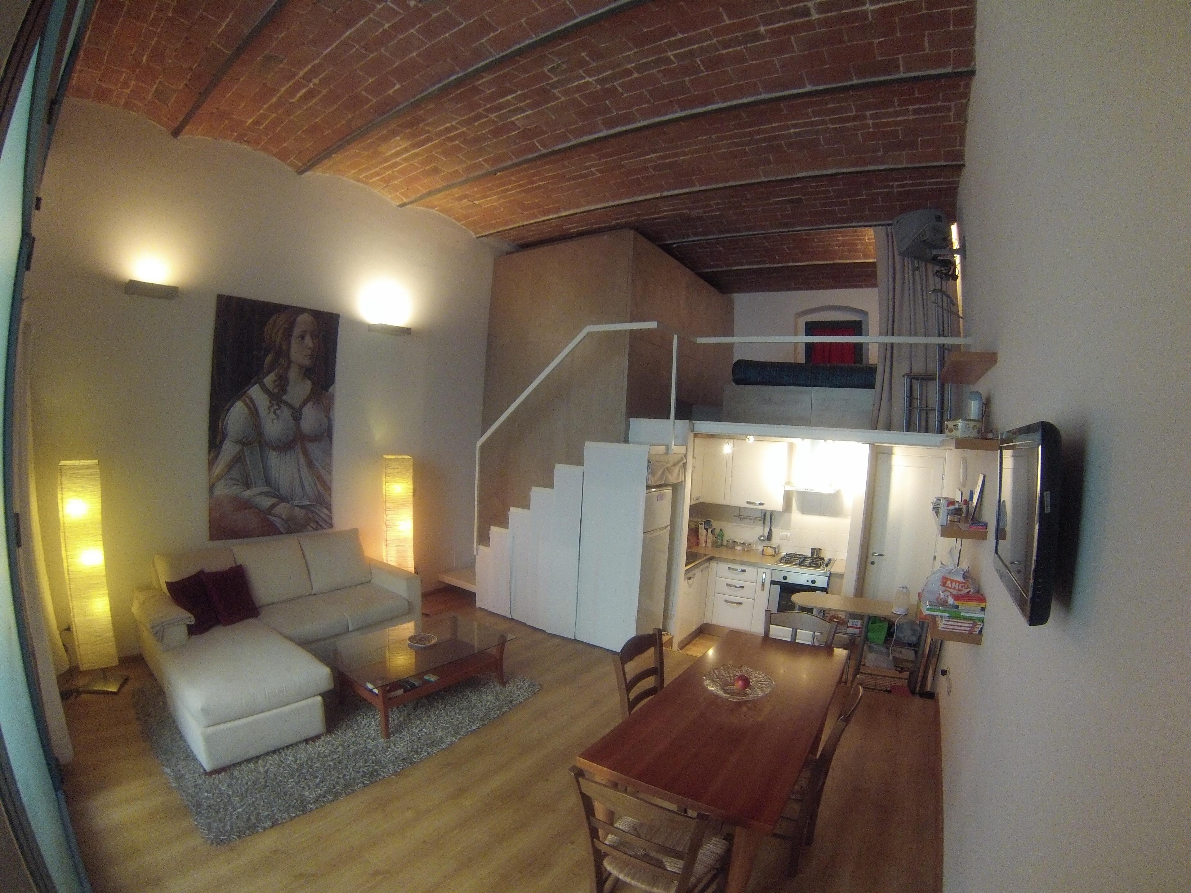 Cool Metropolitan Lifestyle Loft Studio In Florence